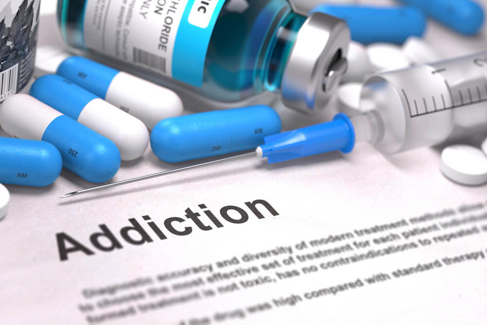 prescription drug abuse showing the concept of Substance Use Treatment