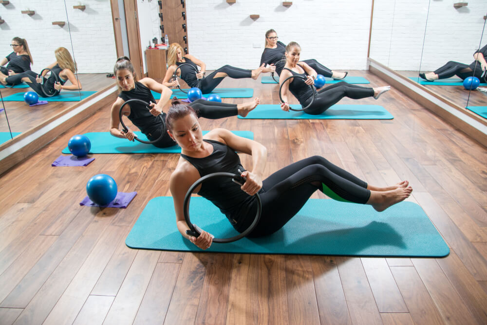 Pilates showing the concept of Physical Therapy Services
